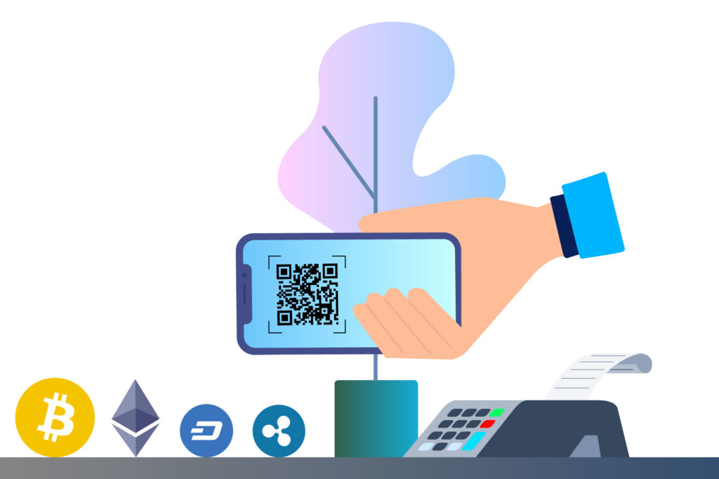 Scanning a QR code by phone - food industry and blockchain - Nextrope